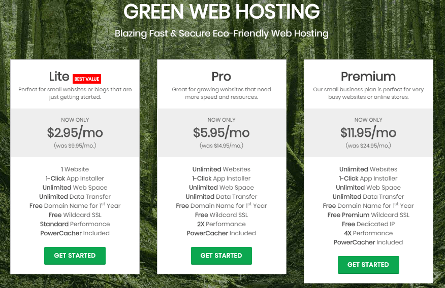 greengeeks hosting plans-min